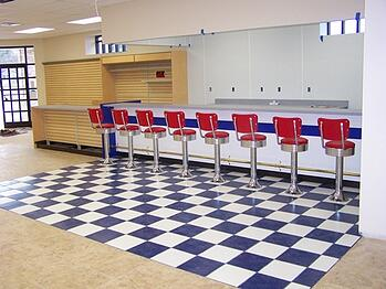 simple ways to improve retail store flooring and ceiling design