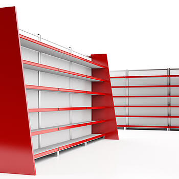 shelving in retail stores what comes first